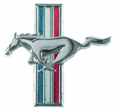 Scott Drake - 1965 - 1966 Mustang Running Horse Fender Emblem - PAIR for Both Sides of Car - Image 3