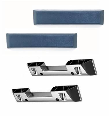 ACP - 1965 - 66 Mustang Arm Rest Base & Pad Set - Your Choice of Color - Image 2