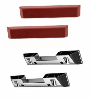 ACP - 1965 - 66 Mustang Arm Rest Base & Pad Set - Your Choice of Color - Image 3