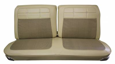 Seat Upholstery - Bench Seat Upholstery - Distinctive Industries - 1962 Impala Split Front & Rear Bench Seat Upholstery