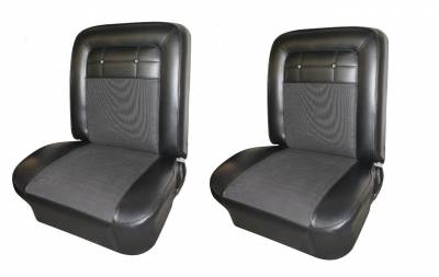 Seat Upholstery - Bucket Seat Upholstery - Distinctive Industries - 1962 Impala Std & SS Bucket & Rear Bench Seat Upholstery