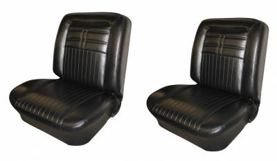 Seat Upholstery - Bucket Seat Upholstery - Distinctive Industries -  1963 Impala SS Front Bucket Seat Upholstery