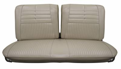 Seat Upholstery - Bench Seat Upholstery - Distinctive Industries - 1964 Impala Standard Front Split Bench Seat Upholstery