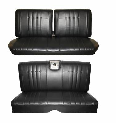 Distinctive Industries - 1965 Impala Front & Rear Bench Seat Upholstery  - Image 1