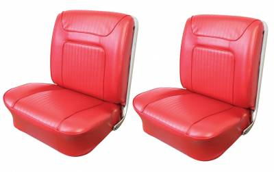 Impala, Bel Air, Caprice - Seat Upholstery - Bucket Seat Upholstery