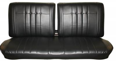 Seat Upholstery - Bench Seat Upholstery - Distinctive Industries - 1966 Impala Front Split-Bench & Rear Bench Seat Upholstery