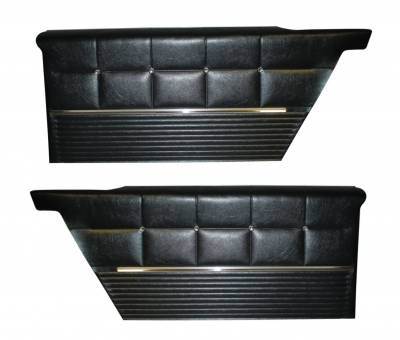 Distinctive Industries - 1962 Impala Rear Quarter Panel Set, Standard and SS