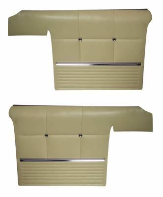 Convertible Rear Quarter Panels