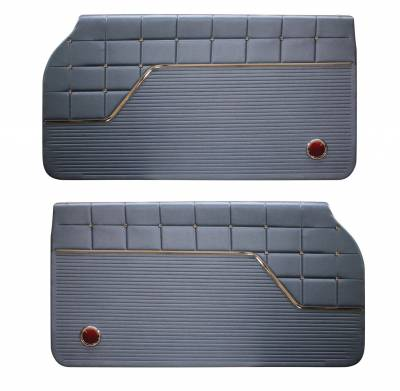 Impala, Bel Air, Caprice - Door & Quarter Panels - Distinctive Industries - 1962 Impala Door Panel Set, Standard and SS
