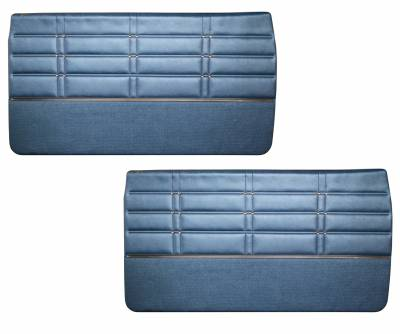 Impala, Bel Air, Caprice - Door & Quarter Panels - Distinctive Industries - 1963 Impala Door Panel Set, Standard