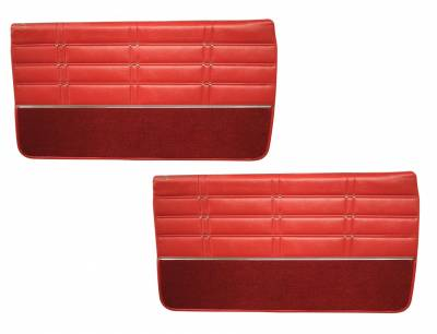 Impala, Bel Air, Caprice - Door & Quarter Panels - Distinctive Industries - 1963 Impala Door Panel Set, SS