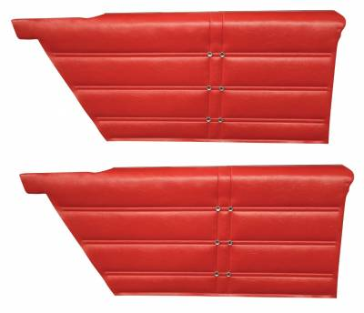 Impala, Bel Air, Caprice - Door & Quarter Panels - Distinctive Industries - 1963 Impala Rear Quarter Panel Set, Standard and SS