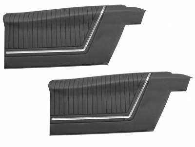 Impala, Bel Air, Caprice - Door & Quarter Panels - Distinctive Industries - 1965 Impala Rear Quarter Panel Set, SS, Coupe