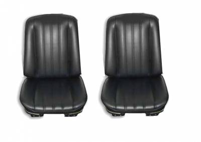Seats & Upholstery  - Nova - Distinctive Industries - 1968 Nova Front Bucket Seat Upholstery, Your Choice of Color