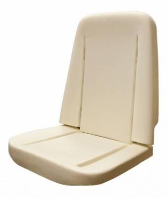 Seats & Upholstery - Nova - Distinctive Industries - 1966 - 1970 Nova Front Bucket Seat Foam
