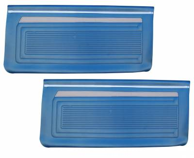 Seats & Upholstery  - Nova Upholstery - Distinctive Industries - 1969 Nova Door Panel Set, Your Choice of Color