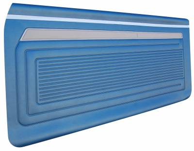 Distinctive Industries - 1969 Nova Door Panel Set, Your Choice of Color - Image 2