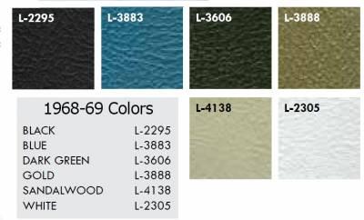 Seats & Upholstery - Nova - Distinctive Industries - 1969 Nova Rear Quarter Panel Set, Your Choice of Color