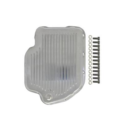 Top Street Performance - GM TH400 Finned Aluminum Transmission Oil Pan
