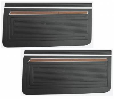 Seats & Upholstery  - Nova Upholstery - Distinctive Industries - 1970 Nova Door Panel Set, Your Choice of Color