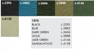 Distinctive Industries - 1970 Nova Rear Quarter Panel Set, Your Choice of Color - Image 3