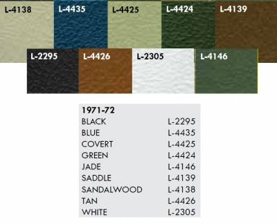 Distinctive Industries - 1971 - 72 Nova Door Panel Set, Your Choice of Color - Image 3