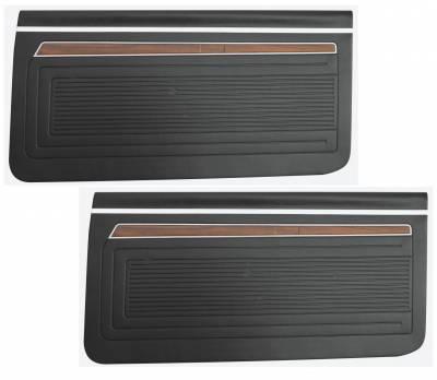 Seats & Upholstery - Nova - Distinctive Industries - 1971 - 72 Nova Door Panel Set, Your Choice of Color