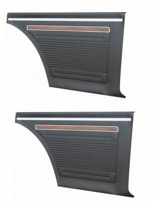 Seats & Upholstery - Nova - Distinctive Industries - 1971 - 72 Nova Rear Quarter Panel Set, Your Choice of Color