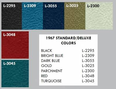 Distinctive Industries - 1967 Firebird Front Bucket Seat Upholstery - Your Choice of Colors - Image 3
