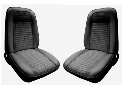 Firebird - Upholstery - Distinctive Industries - 1968 Firebird Front Bucket Seat Upholstery - Your Choice of Colors