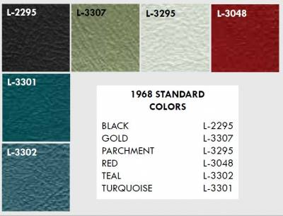 Distinctive Industries - 1968 Firebird Front Bucket & Rear Bench Seat Upholstery - Your Choice of Colors - Image 3