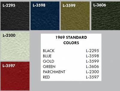 Distinctive Industries - 1969 Firebird Standard Door Panels - Your Choice of Colors - Image 2