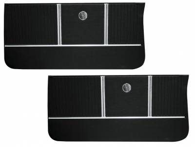 Door & Quarter Panels - Factory Style Replacments - Distinctive Industries - 1964 Chevelle/El Camino Pre-Assembled Door Panels