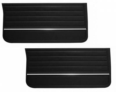 Door & Quarter Panels - Factory Style Replacments - Distinctive Industries - 1965 Chevelle/El Camino Pre-Assembled Door Panels