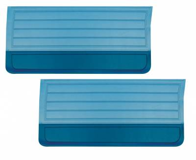 Door & Quarter Panels - Factory Style Replacments - Distinctive Industries - 1965 Chevelle/El Camino Door Panels -Two Tone