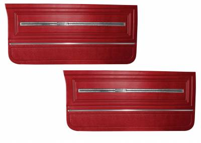 Door & Quarter Panels - Factory Style Replacments - Distinctive Industries - 1966 Chevelle/El Camino Pre-Assembled Door Panels