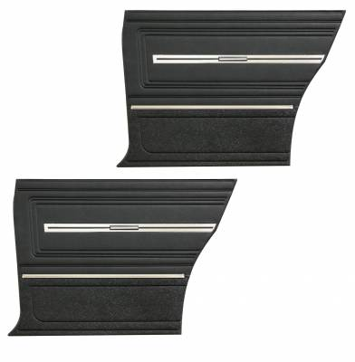 Door & Quarter Panels - Factory Style Replacments - Distinctive Industries - 1966 Chevelle Pre-Assembled Rear Quarter Panels