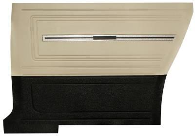 Distinctive Industries - 1966 Chevelle Pre-Assembled Rear Quarter Panels - Two Tone - Image 2