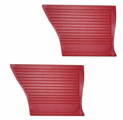 Chevelle/El Camino - Door & Quarter Panels - Distinctive Industries - 1967 Chevelle Rear Quarter Panels