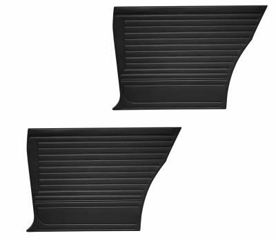 Black Coupe Quarter Panels
