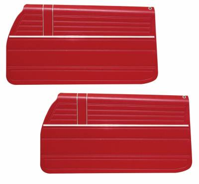 Chevelle/El Camino - Door & Quarter Panels - Distinctive Industries - 1968 Chevelle/El Camino Pre-Assembled Door Panels