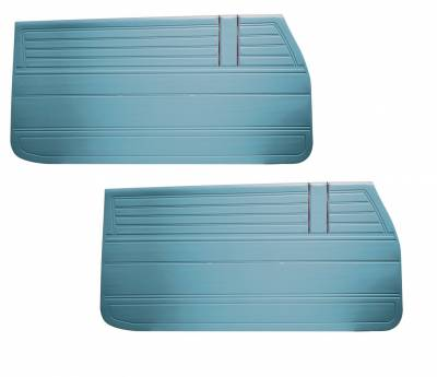 Door & Quarter Panels - Factory Style Replacments - Distinctive Industries - 1968 Chevelle/El Camino Door Panels