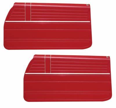 Chevelle/El Camino - Door & Quarter Panels - Distinctive Industries - 1968 Chevelle Pre-Assembled Quarter Panels