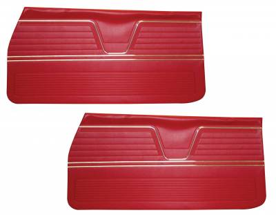 Door & Quarter Panels - Factory Style Replacments - Distinctive Industries - 1969 Chevelle/El Camino Door Panels