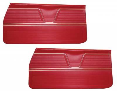 Chevelle/El Camino - Door & Quarter Panels - Distinctive Industries - 1969 Chevelle/El Camino Door Panels