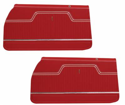 Door & Quarter Panels - Factory Style Replacments - Distinctive Industries - 1970 -72 Chevelle/El Camino Pre-Assembled Door Panels