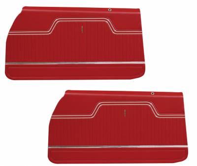 Chevelle/El Camino - Door & Quarter Panels - Distinctive Industries - 1970 -72 Chevelle/El Camino Pre-Assembled Door Panels