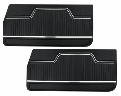 Door & Quarter Panels - Factory Style Replacments - Distinctive Industries - 1970 -72 Chevelle/El Camino Door Panels