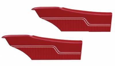 Chevelle/El Camino - Door & Quarter Panels - Distinctive Industries - 1970 -72 Chevelle Pre-Assembled Rear Quarter Panels