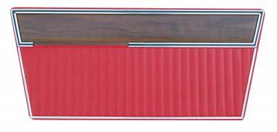 Distinctive Industries - 1968 - 77 Ford Bronco Door Panel Set - with Woodgrain Trim - Image 2